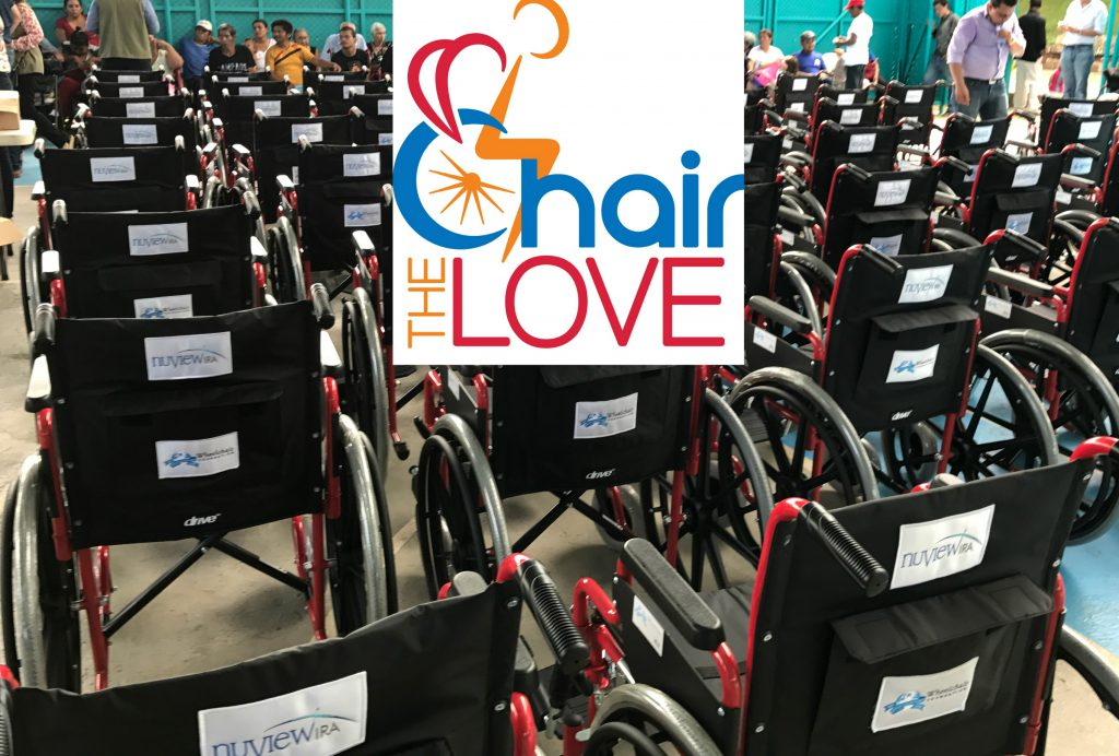chair the love wheelchair foundation donation